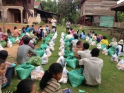 Distributed Rice and foods